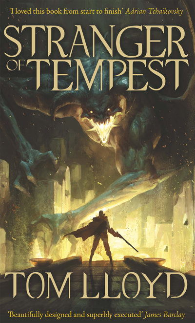 LEGEND STRANGER OF TEMPEST COVER 400