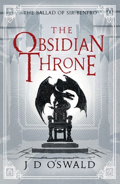 The Obsidian Throne by J. D. Oswald