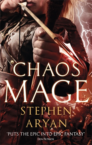 Chaos Mage by Stephen Aryan